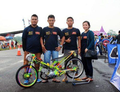 Air Minum BO2 Resmi Menjadi Sponsor Team Balap HRC Ceria!!